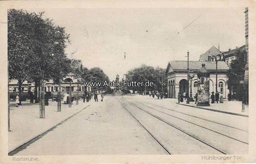 1916 karlsruhe ansichtskarte postkarte karlsruhe