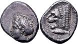 AR Tetradrachm 390-330 BC. Griechenland, Mysia, Kyzikos. VZ